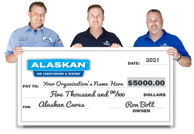 Alaskan Cares Check